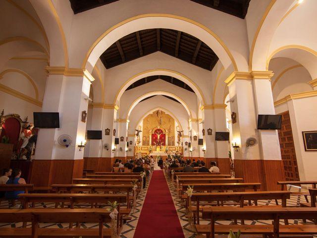 La boda de David y Olivia en Loja, Granada 2