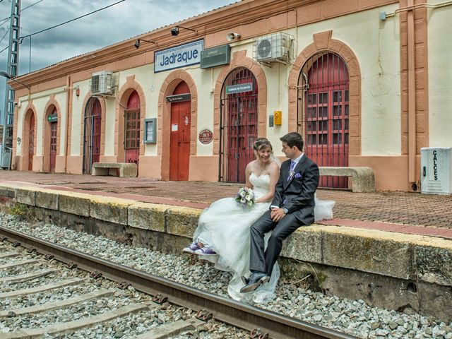 La boda de David y Ángela en Jadraque, Guadalajara 2