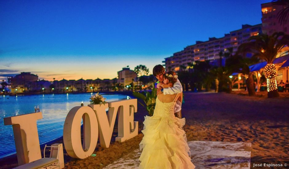 La boda de Maxi y Cris en La Manga Del Mar Menor, Murcia