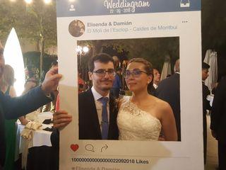 La boda de Elisenda  y Damián