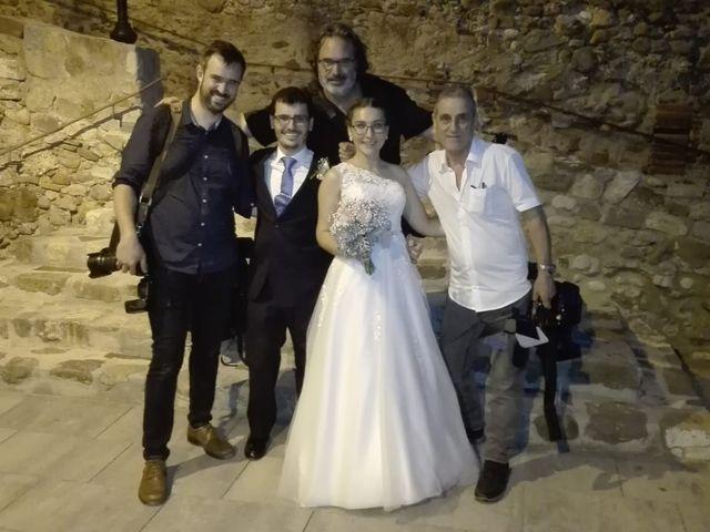 La boda de Damián  y Elisenda  en Caldes De Montbui, Barcelona 1