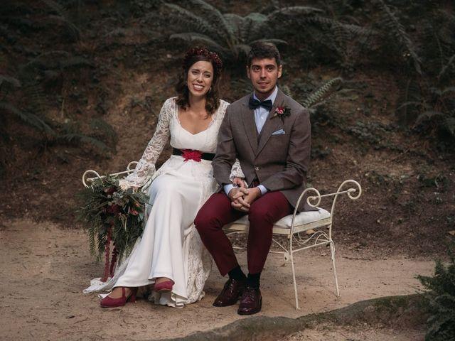 La boda de Esteban Lopez Paredes y Mireya Galán Blazquez en Vilanova De Sau, Barcelona 4