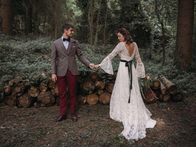 La boda de Esteban Lopez Paredes y Mireya Galán Blazquez en Vilanova De Sau, Barcelona 2