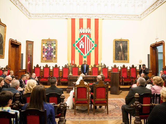 La boda de Cristobal y Estibaliz en Terrassa, Barcelona 6