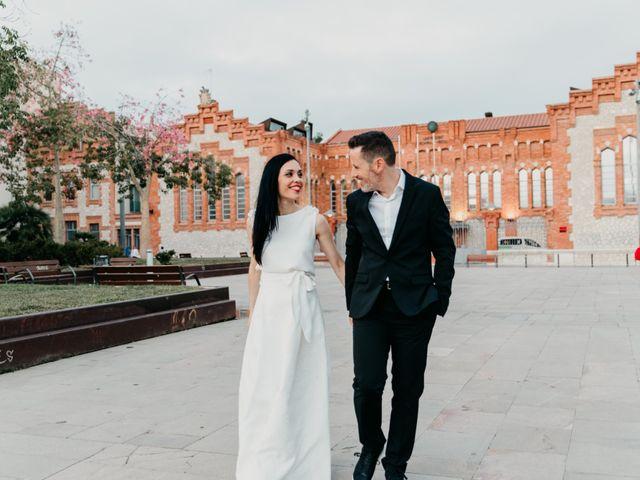 La boda de Olga y Nil