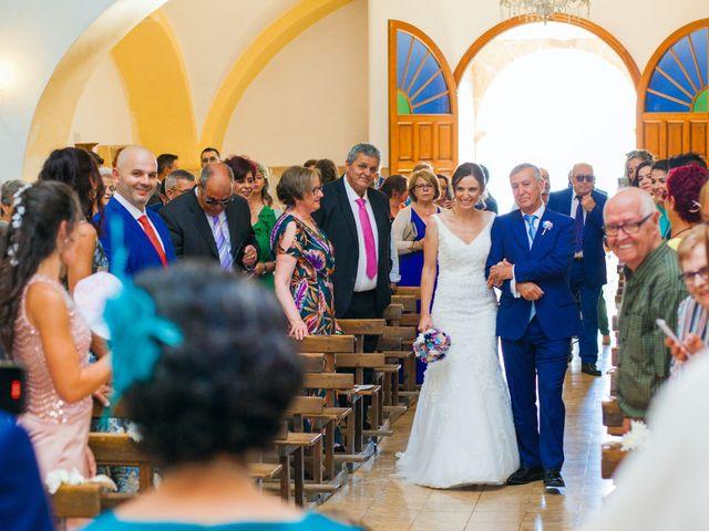 La boda de Miriam y Miguel en Santiago De Alcantara, Cáceres 19