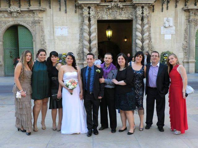 La boda de Miguel y Inma en Alacant/alicante, Alicante 4