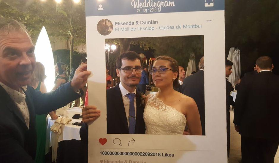 La boda de Damián  y Elisenda  en Caldes De Montbui, Barcelona