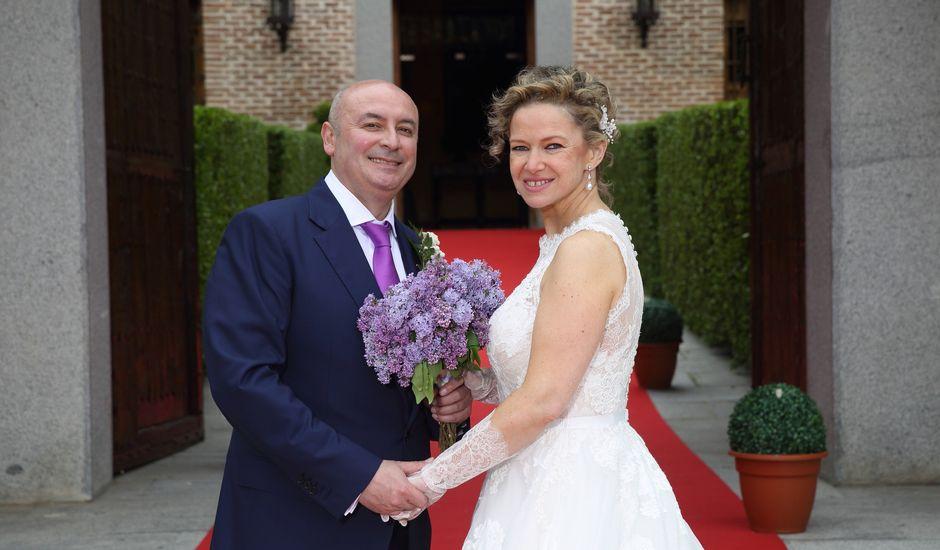La boda de David  y Helena  en Boadilla Del Monte, Madrid
