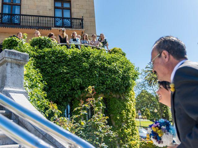 La boda de Iñaki y Tamara en Getxo, Vizcaya 14
