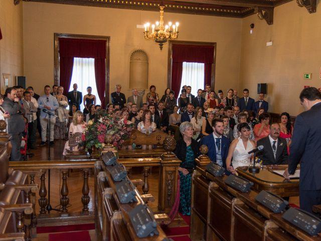 La boda de Iñaki y Tamara en Getxo, Vizcaya 20