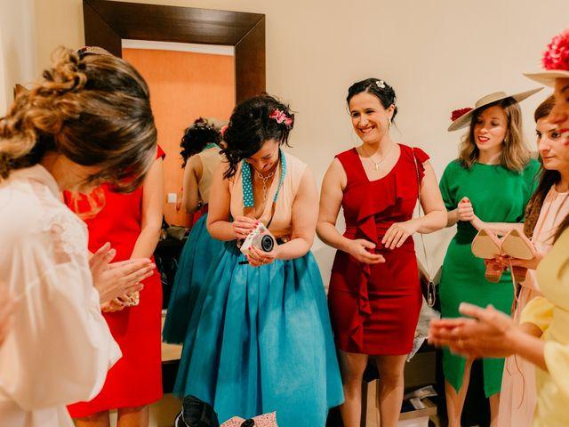 La boda de Julio y Cecilia en Villarrubia De Los Ojos, Ciudad Real 31