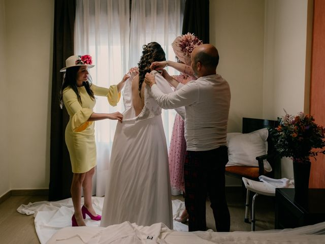 La boda de Julio y Cecilia en Villarrubia De Los Ojos, Ciudad Real 33