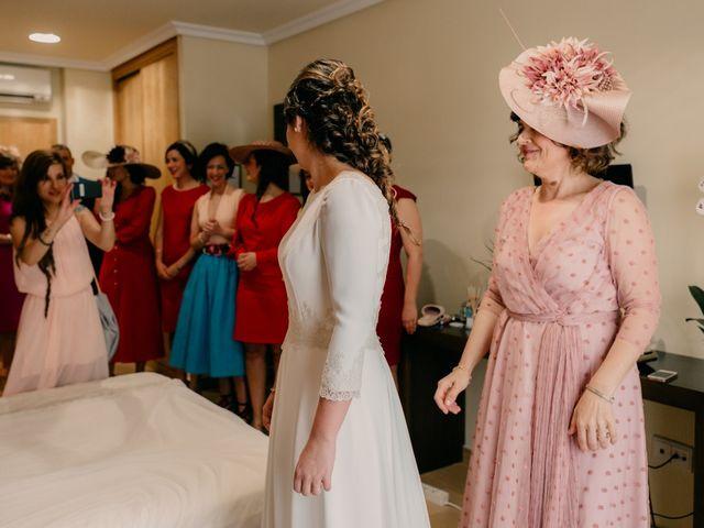 La boda de Julio y Cecilia en Villarrubia De Los Ojos, Ciudad Real 35