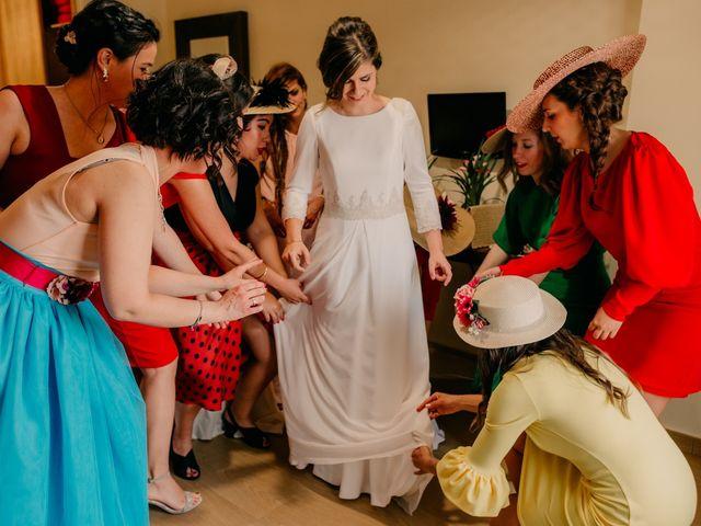 La boda de Julio y Cecilia en Villarrubia De Los Ojos, Ciudad Real 1