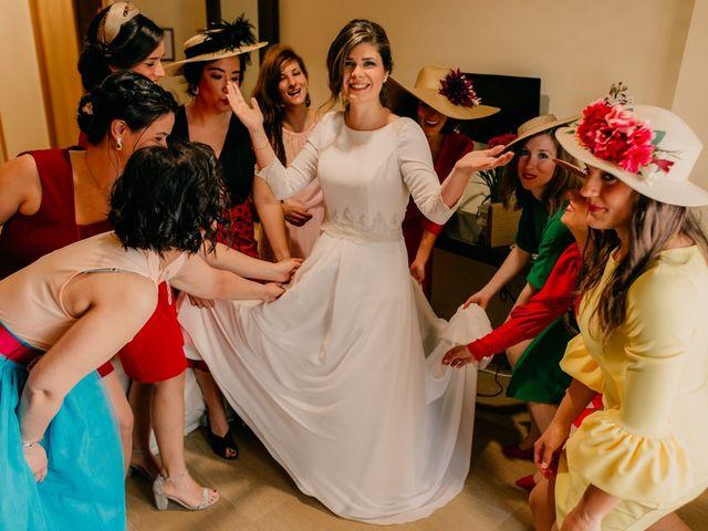 La boda de Julio y Cecilia en Villarrubia De Los Ojos, Ciudad Real 39