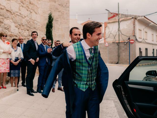 La boda de Julio y Cecilia en Villarrubia De Los Ojos, Ciudad Real 41