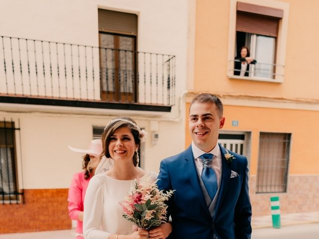 La boda de Julio y Cecilia en Villarrubia De Los Ojos, Ciudad Real 45