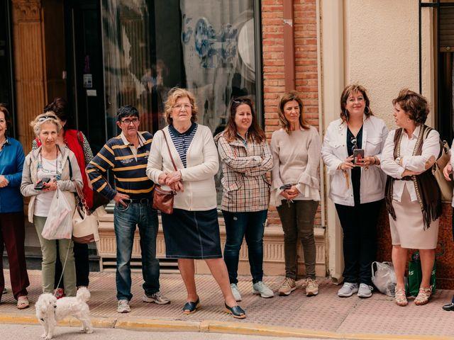 La boda de Julio y Cecilia en Villarrubia De Los Ojos, Ciudad Real 48