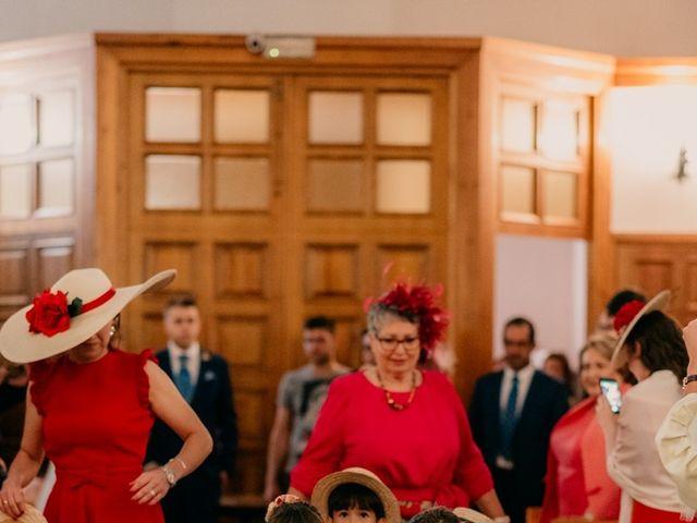 La boda de Julio y Cecilia en Villarrubia De Los Ojos, Ciudad Real 49