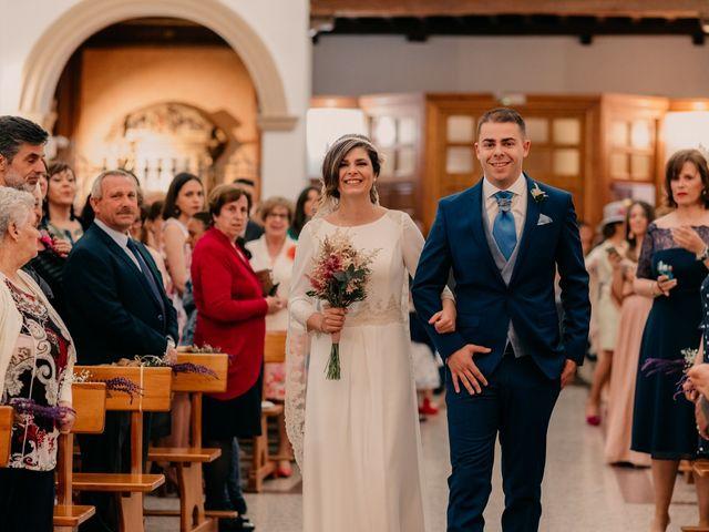 La boda de Julio y Cecilia en Villarrubia De Los Ojos, Ciudad Real 53