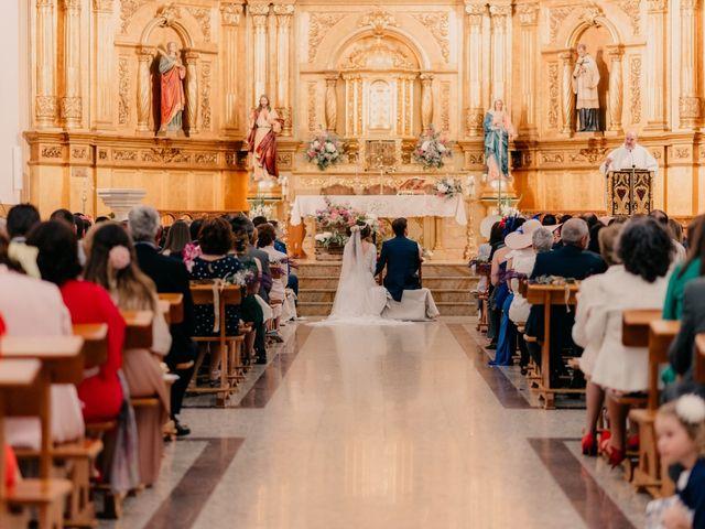 La boda de Julio y Cecilia en Villarrubia De Los Ojos, Ciudad Real 58
