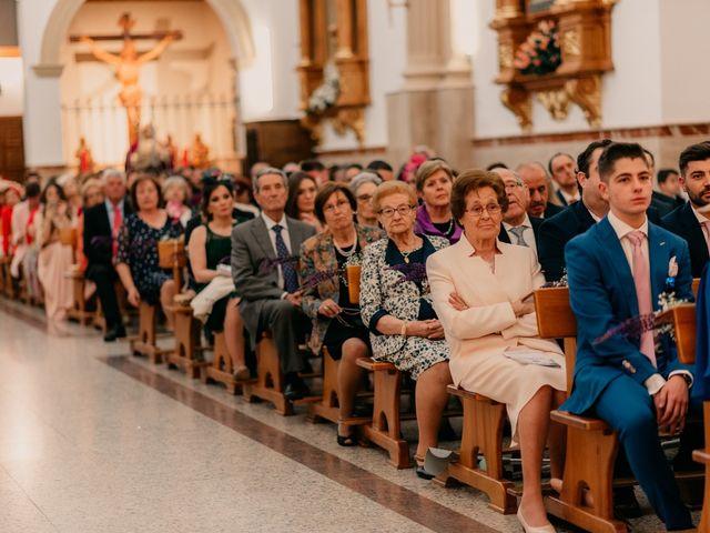 La boda de Julio y Cecilia en Villarrubia De Los Ojos, Ciudad Real 62