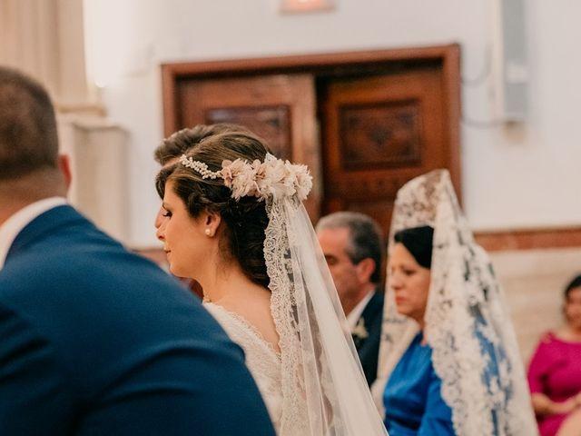 La boda de Julio y Cecilia en Villarrubia De Los Ojos, Ciudad Real 79