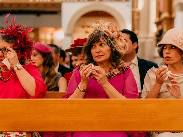 La boda de Julio y Cecilia en Villarrubia De Los Ojos, Ciudad Real 80