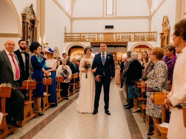 La boda de Julio y Cecilia en Villarrubia De Los Ojos, Ciudad Real 99
