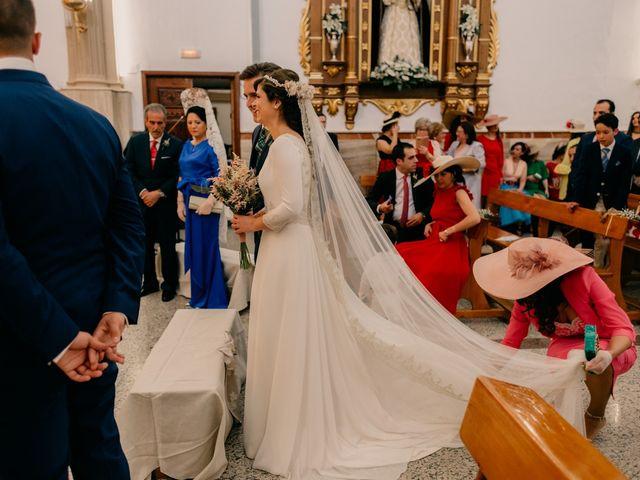 La boda de Julio y Cecilia en Villarrubia De Los Ojos, Ciudad Real 100