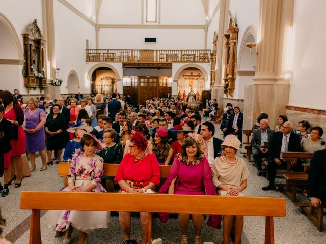 La boda de Julio y Cecilia en Villarrubia De Los Ojos, Ciudad Real 104