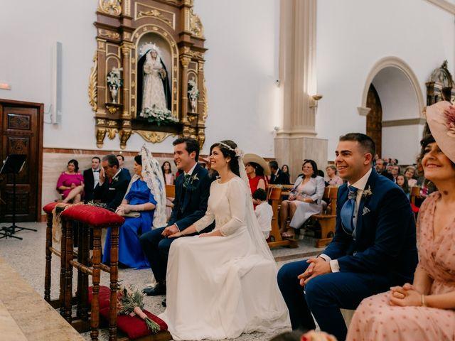La boda de Julio y Cecilia en Villarrubia De Los Ojos, Ciudad Real 105