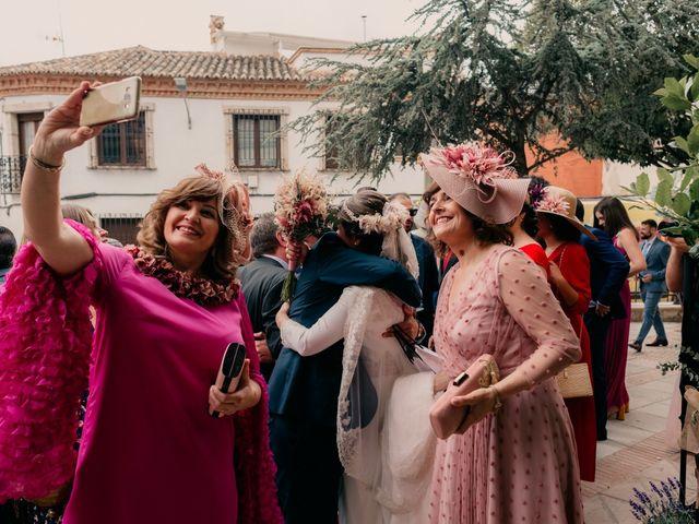 La boda de Julio y Cecilia en Villarrubia De Los Ojos, Ciudad Real 107