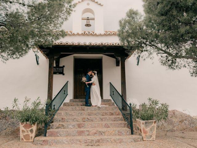 La boda de Julio y Cecilia en Villarrubia De Los Ojos, Ciudad Real 130