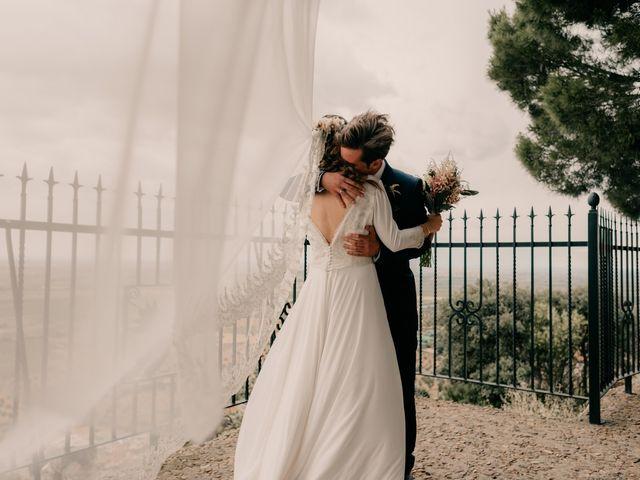 La boda de Julio y Cecilia en Villarrubia De Los Ojos, Ciudad Real 132