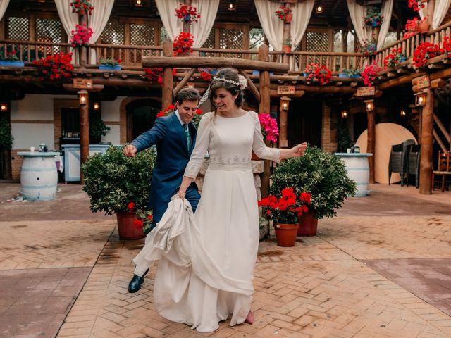 La boda de Julio y Cecilia en Villarrubia De Los Ojos, Ciudad Real 2