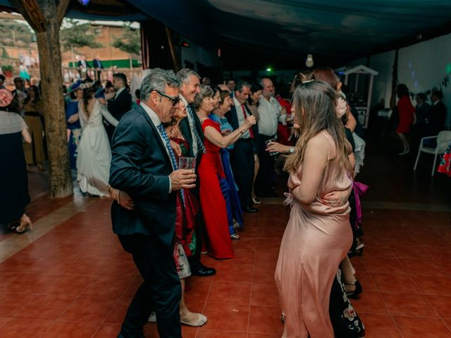 La boda de Julio y Cecilia en Villarrubia De Los Ojos, Ciudad Real 210