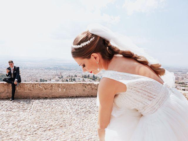 La boda de Ángel y Cristina en Granada, Granada 1