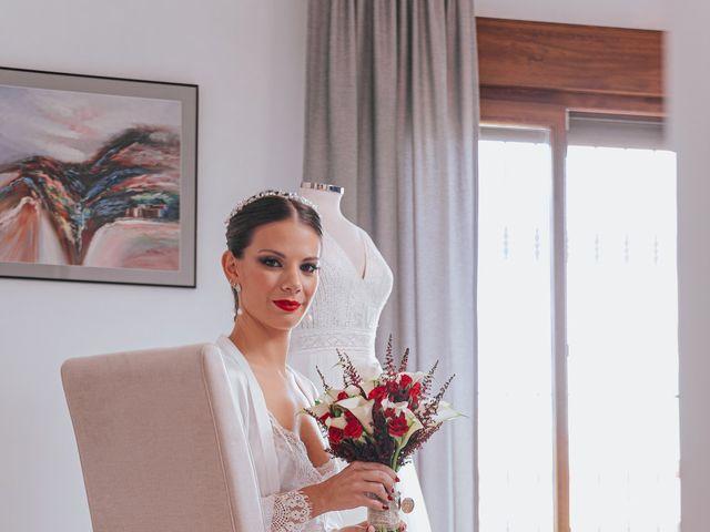 La boda de Ángel y Cristina en Granada, Granada 17