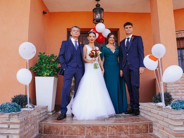 La boda de Ángel y Cristina en Granada, Granada 25
