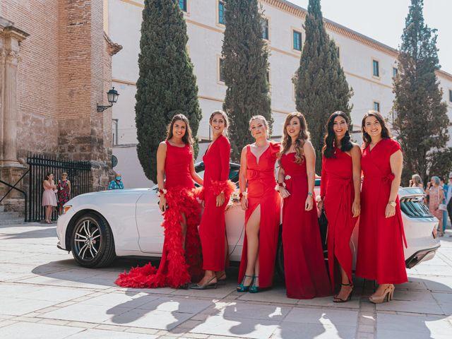 La boda de Ángel y Cristina en Granada, Granada 38