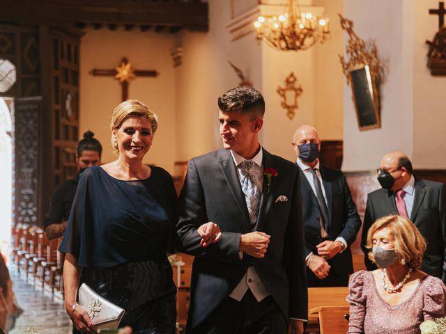 La boda de Ángel y Cristina en Granada, Granada 43