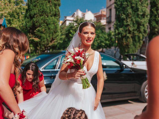 La boda de Ángel y Cristina en Granada, Granada 45