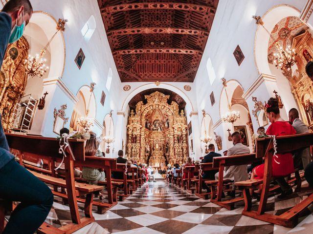 La boda de Ángel y Cristina en Granada, Granada 51