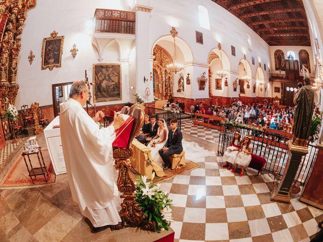 La boda de Ángel y Cristina en Granada, Granada 52