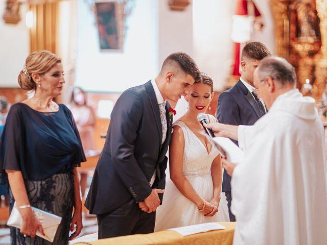 La boda de Ángel y Cristina en Granada, Granada 57