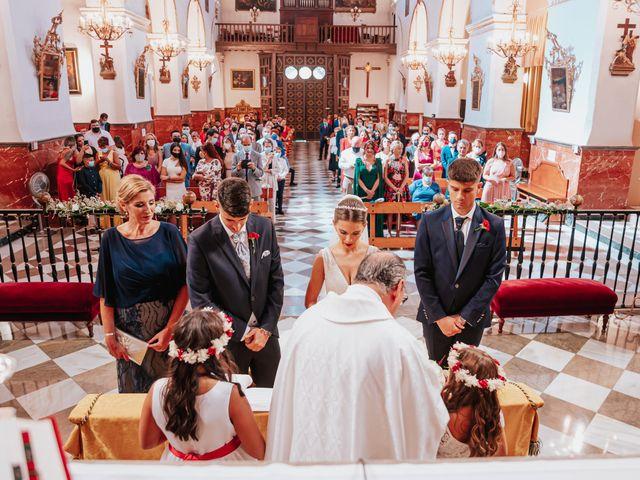 La boda de Ángel y Cristina en Granada, Granada 61