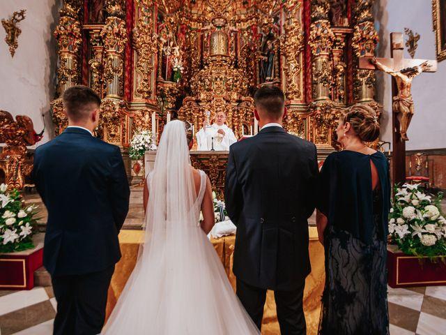 La boda de Ángel y Cristina en Granada, Granada 63