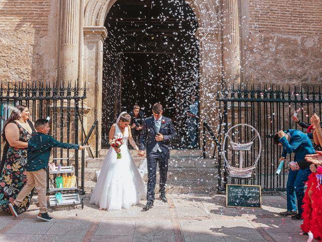 La boda de Ángel y Cristina en Granada, Granada 71